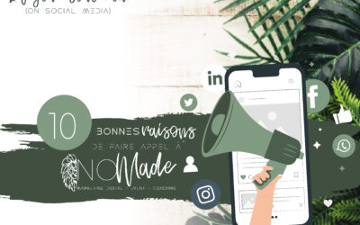 10 bonnes raisons de faire appel à un Social Media Manager
