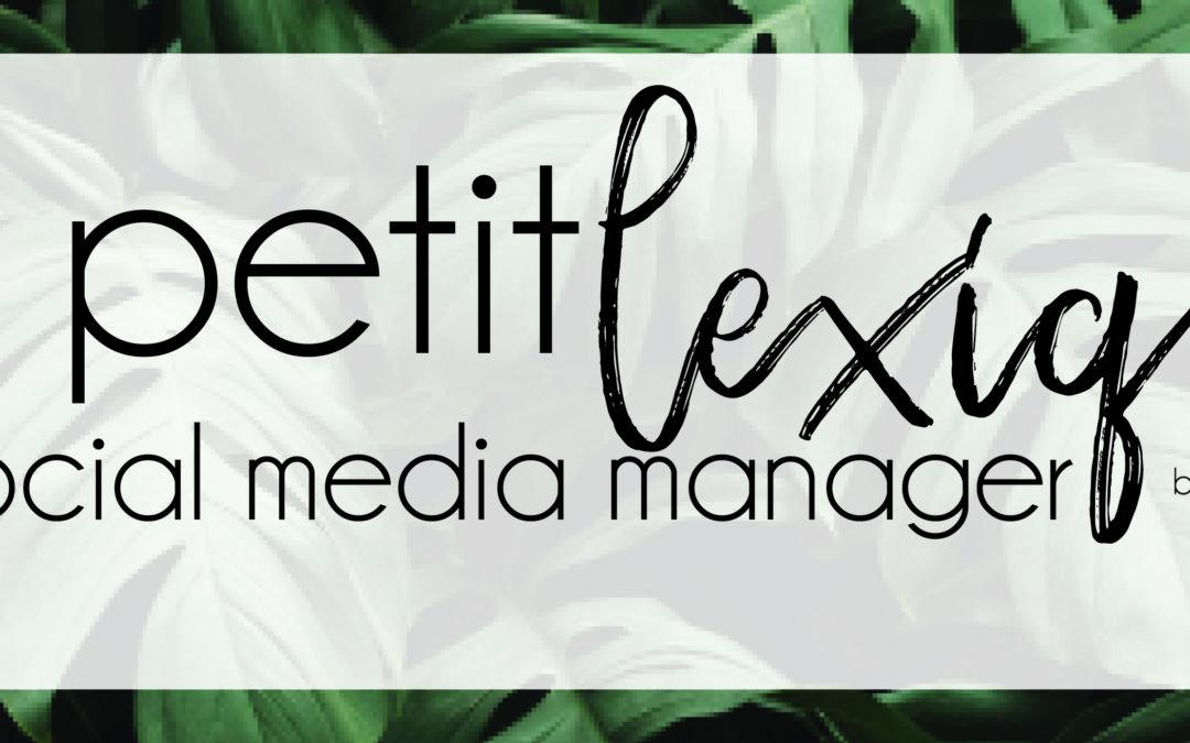 Le petit lexique du Social Media Manager